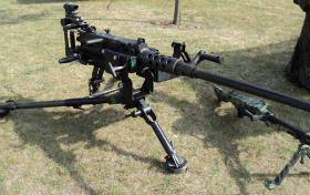 50 Cal Heavy Machine Gun at Colchester, July 2010