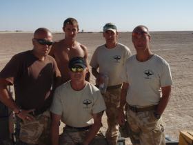 C (Bruneval) Coy Helmand Training Team (Preparing 45Cdo Royal Marines for operations in Helmand)