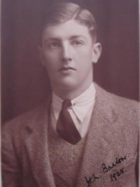 Portrait of Hilaro Nelson Barlow, 1925