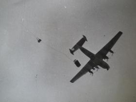 Hornet being deployed from a RAF Blackburn Beverley