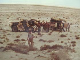 Hornet on exercise in Sharjah, 1966
