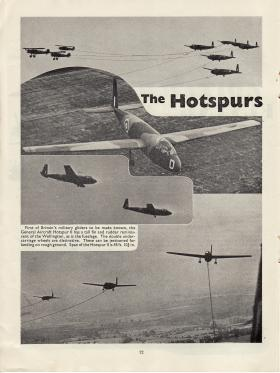 Article on Hotspur reproduced from Air Training Corps Gazette, August 1942