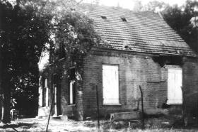 House on Orangeweg, Oosterbeek used as a RAP during the Battle of Arnhem