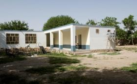 Hutal School in Afghanistan, newly renovated with help from 3 PARA