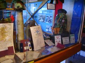 One of the displays inside the Airborne Forces Museum, Aldershot