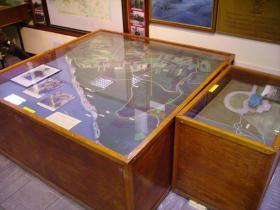 Briefing model at the Airborne Forces Museum, Aldershot