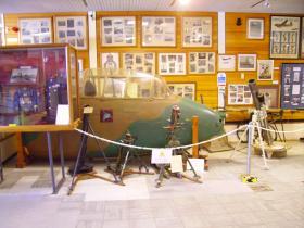Horsa glider cockpit at the Airborne Forces Museum, Aldershot