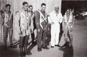 John Buck, 151 Battalion at Delhi Air Landing School, 1941