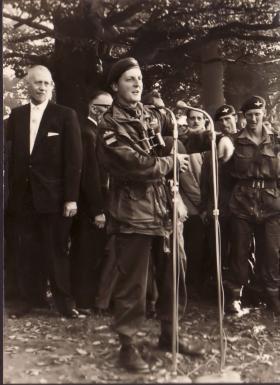 John Waddy at the Ginkel Heide, 1961