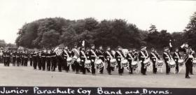 Junior Parachute Coy Guard Band & Drums