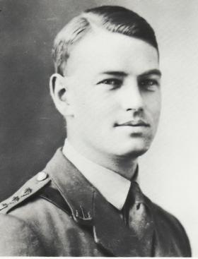 General Sir Frank King as a young officer