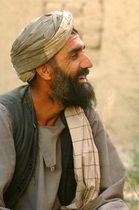 Local national in Zabul, Afghanistan 2008