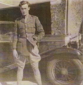 Photo of Lt Tony Hibbert, c.1941