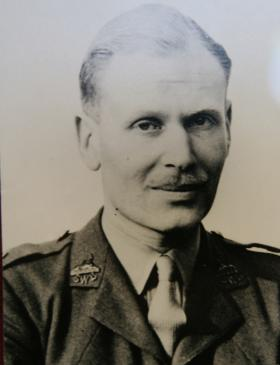 Portrait of Lt Col KBI Smyth OBE