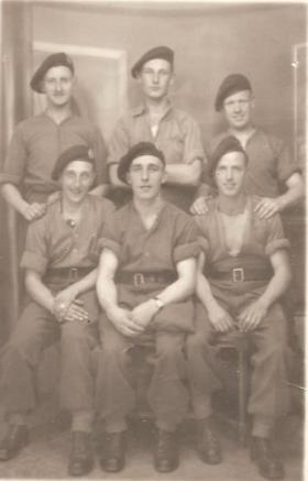 Members of 2nd Parachute Battalion at Maison Carrée, 1942.