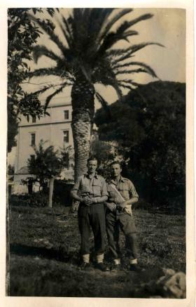 Greece 1944, Ernie left hand side