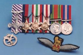 Medal set of Cpt Bill Barrie DFC