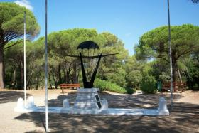 Memorial to Airborne forces at La Motte, South of France