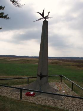 Memorial on Ginkelse Heide