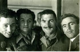 Men from 2nd Parachute Battalion, Palestine, 1946.
