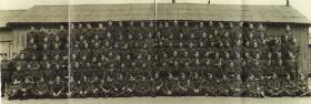 Group portrait of 1st Parachute Battalion, Bulford, 1942