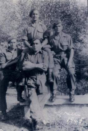 Men of 1st Independent Parachute Platoon, Greece, 1945