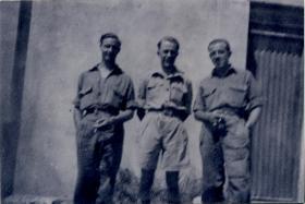Men of 1st Independent Parachute Platoon