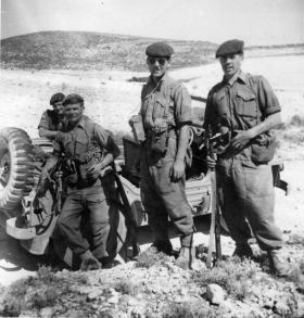 Men of Support Coy, 2 PARA take a break during a Live Firing Exercise, Cyprus, 1958