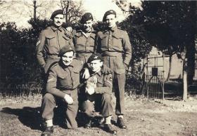 Five men of the 2nd Parachute Battalion prior to Arnhem c1944.