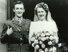 Photo of Mike Dauncey's wedding