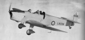 Miles Magister RAF training aircraft
