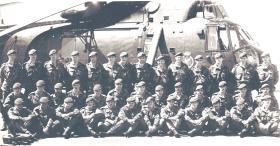 Mortar Platoon 3 PARA - SS Canberra May 1982