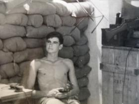 Support Company observation post, Sheik Othman, Aden, 1967