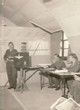 2 Para Air Briefing for Exercise Dry Martini, Nicosia 1959