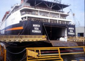 MV Norland at Portsmouth 26 March 1982