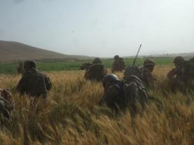 3 PARA on operations in Afghanistan