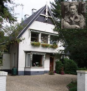 One of the houses in Ede, used to shelter Maj Tony Hibbert before the Pegasus I escape