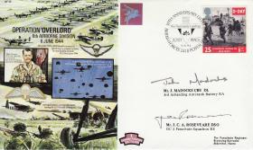 Overlord Commemorative Cover