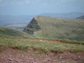 'The Fan' - A legend of a mountain in the Regt
