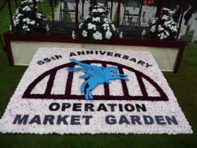 Floral Display for 65th Anniversary at Arnhem Oosterbeek Cemetery