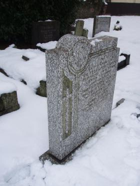 Gravestone of HJ Carter, St Woolos Cemetery, Newport