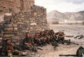 Oman Saiq ranges 1986