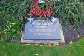 Parachute Regiment and Airborne Forces Memorial, Liverpool