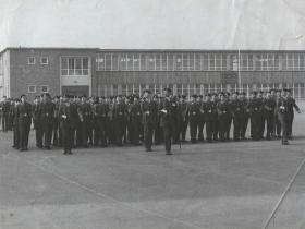 Parachute Squadron RAC Amalgamation Parade, 3 February 1965