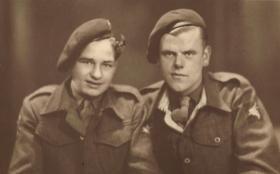 Photo of men from 716 (Airborne) Lt Coy RASC