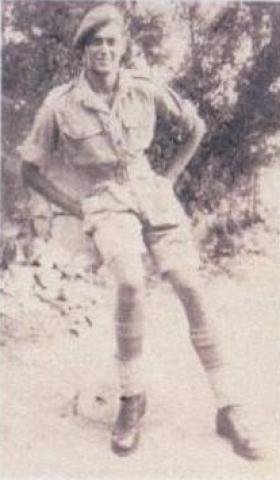 Pip Tyler in Italy, 1943