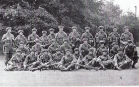A Platoon from 4th Bn, 1943