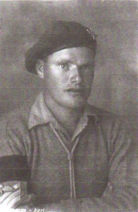 Portrait of Sgt Hughes/Freeman MM, Italy, October 1943