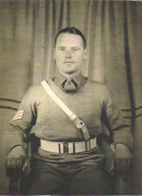 Portrait of Sgt Hughes/Freeman MM
