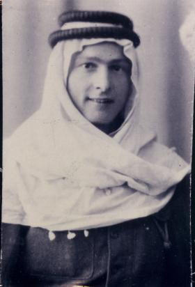Portrait of Thomas Jarvis in Palestine